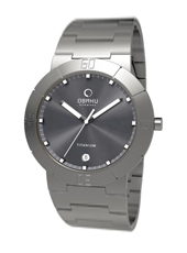 Obaku V140G-Titanium-Grey V140GTJST - 2011 Fall Winter Collection