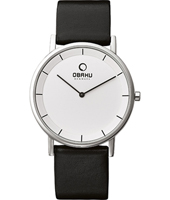 Obaku V143G-White-Leather V143GCIRB -