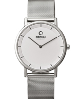 Obaku V143G-Silver-Milanese V143GCWMC - 2012 Fall Winter Collection
