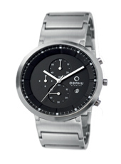 Obaku V147G-Chrono-Black V147GCBSC1 - 2012 Fall Winter Collection