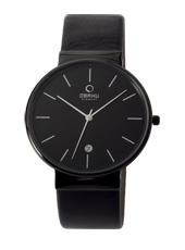 Obaku V153G-All-Black V153GBBRB - 2012 Fall Winter Collection