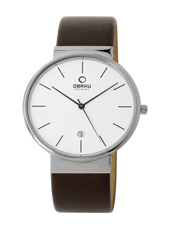 Obaku V153G-Brown-Leather V153GCIRN -