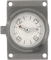 Offshore Limited OFF001B-Small-Clock-WHITE AOFF001BDIAL -