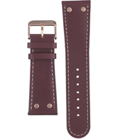 Offshore Limited Z-Drive-Brown-and-Rose-Gold-Leather-Strap AOFF007I -
