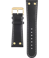 Offshore Limited Z-Drive-Black-and-Gold-Leather-Strap AOFF007J -