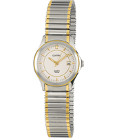 28mm Bicolor silver/gold Watch with Date