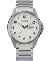 OL26HSS243  39mm Steel Gents Watch with Sapphire Crystal