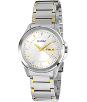 39mm Bicolor silver & gold Day/Date Watch