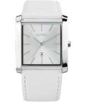 36mm Square silver ladies watch