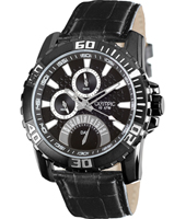 45mm Black Day/Date Gents Watch