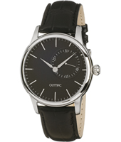 43mm Black Gents Watch with Date