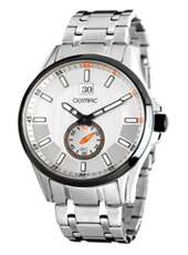 44mm Steel Gents Watch with Date & Petite Seconde
