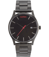 OL89HZZ001  45mm Black watch with date