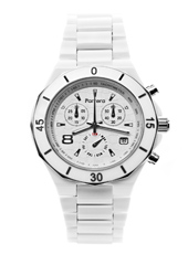 Parrera Chrono-40-White-Silver PA1311 - 2012 Fall Winter Collection