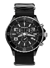 Parrera Chrono-44-Black-Nato-Black PA1624 - 2012 Spring Summer Collection