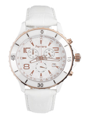 Parrera Chrono-44-White-Leather PA1533 -