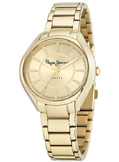 R2353101501 Alice 38mm Gold Ladies Watch With Round Case And Steel Bracelet