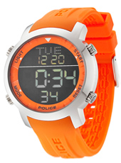 Police Cyber-Orange PL12898JS-02I -