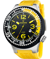 Poseidon Black-yellow-silicone PO00249 -