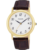 34mm Classic Gold gents Watch