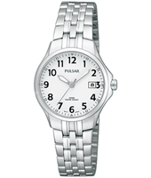 PH7221  26mm Classic Steel & White Ladies Watch with Date