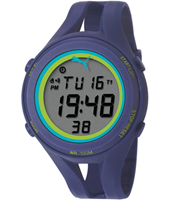 PU911171004 Air lll 46.60mm Blue digital chronograph