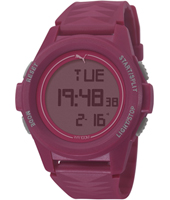 PU911161004 Vertical Purple-red digital chrono