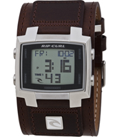 Rip Curl Bronx Digital Chocolate Brown A2377-685, Rip Curl Watch for Men
