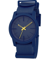 Cambridge  Navy Plastic 10 ATM Watch with Nylon Strap