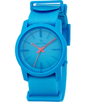 Cambridge  Blue Plastic 10 ATM Watch with Nylon Strap