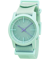 Cambridge  Mint Plastic 10 ATM Watch with Nylon Strap