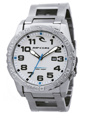 Cortez 2 XL Heat Bezel  Steel & White Watch with Date & Heat Bezel