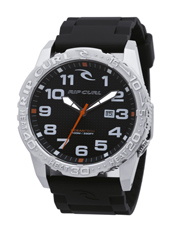 Cortez 2 XL Heat Bezel  Steel & Black Watch with Date & Heat Bezel