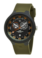 K38 Tidemaster  Army & Black Watch with Tide and Moon Phase Function