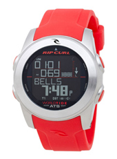 Pipeline  Red Digital World Tide Multifunction Watch