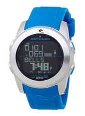Pipeline  Blue Digital World Tide Multifunction Watch