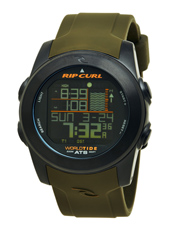 Pipeline Army Digital World Tide Muiltifunction Watch