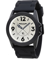 Radar  Black & Off White Sport Fashion Watch