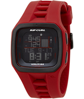 A1090-40 Trestles Pro Red Digital World Tide Chart Watch