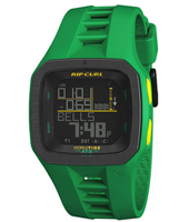 Trestles Pro Green Digital World Tide Chart Watch