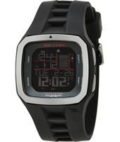 Trestles Pro Mick Fanning Black Digital World Tide Chart Watch