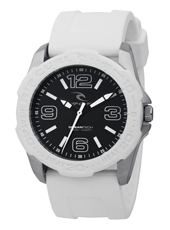 Tubes  White Surf Watch, Unidirectional Bezel