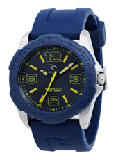 Tubes  Blue & Steel Surf Watch, Unidirectional Bezel
