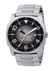 Undercover  Steel & Black Mens Watch with Date