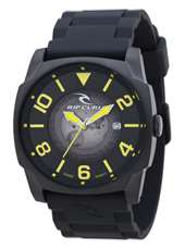 Undercover  Black & Lime Mens Watch with date