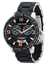 Sector 400-Chrono-Black-&-Orange R3273619001 -