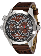 Sector Oversize-Dual-Timer-Brown R3251102055 -