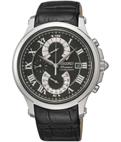 Seiko Double-Retrograde-Chrono-Black SPC067P2 -