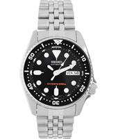 SKX013K2 Scuba Diver's 38mm Silver watch automatic with date/day
