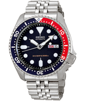 42mm Automatic Diver Watch with Pepsi Bezel